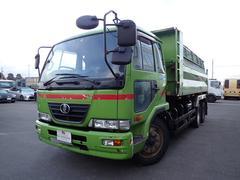 コンドル ミニ大型ダンプ 11.3トン 6MT 2デフ 電動コボレーン(UDトラックス)