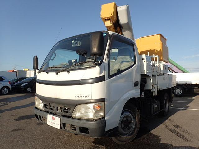 日野 アイチ製 高所作業車 9.7メートル 4WD 5MT
