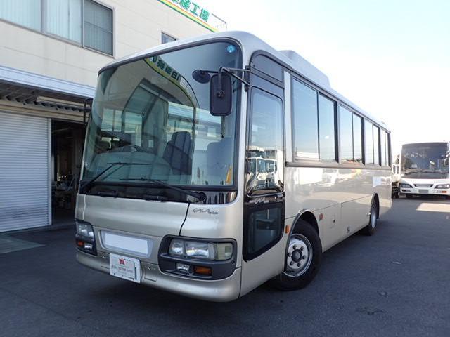 いすゞ 41人乗りバスガーラミオ 6速 自動扉 貫通トランク