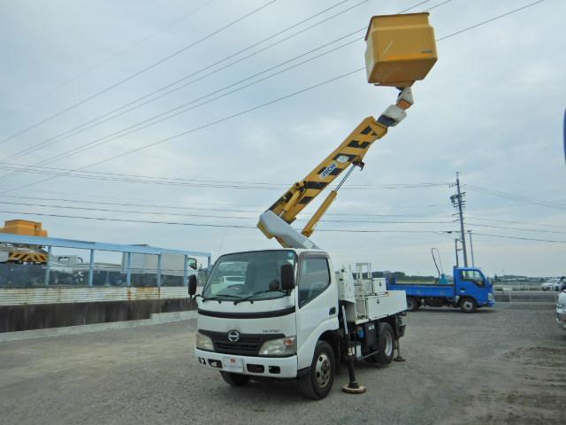 日野 アイチSH09A 電工仕様 低アワー 5MT 作業床9.7m