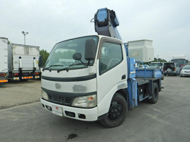 日野 高所作業車 12m 5MT FRP製バケット