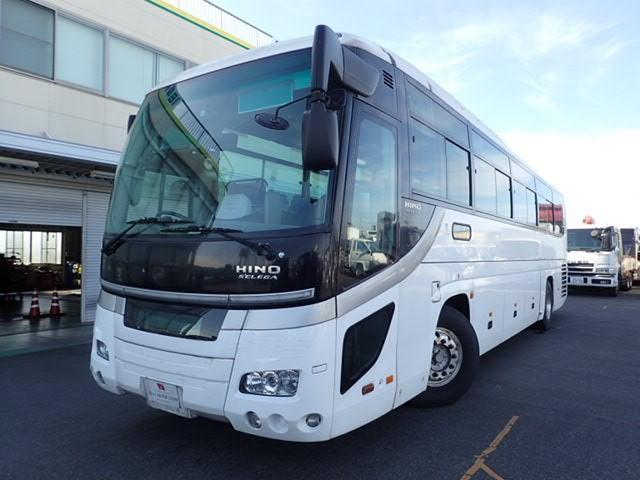 日野 セレガ39人乗りバス 貫通トランク トイレ付き フルエアサス