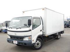 ダイナトラック全低床3.5tアルミバンPG付 ワイド超ロング 新明和