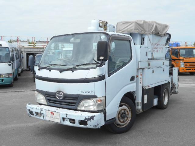 日野 アイチ高所作業車 13m 電工仕様 バケット荷重100kg