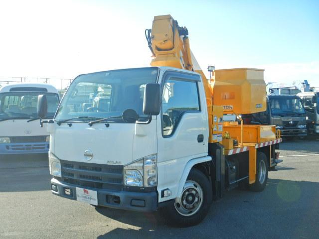 日産 高所作業車 タダノAT121 12m FRP製バケット