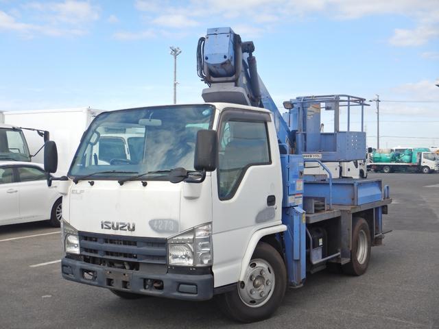 いすゞ 12m 高所作業車 鉄バケット タダノAT121 6MT