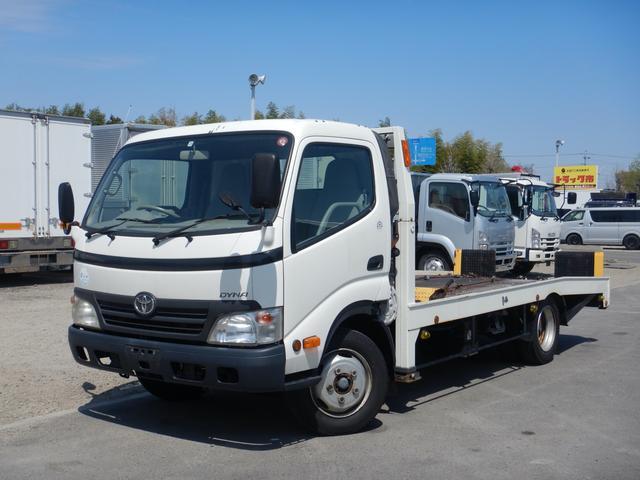 トヨタ ダイナトラック セルフローダー ワイドロング ラジコン付きフルオート 積載車