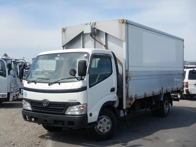 トヨタ ダイナトラック 3.5t アルミウイング ワイド超ロング 高床