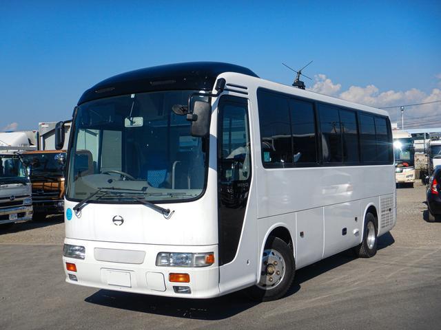日野 29人乗り観光バス エアサス リアエンジン スイング式自動扉