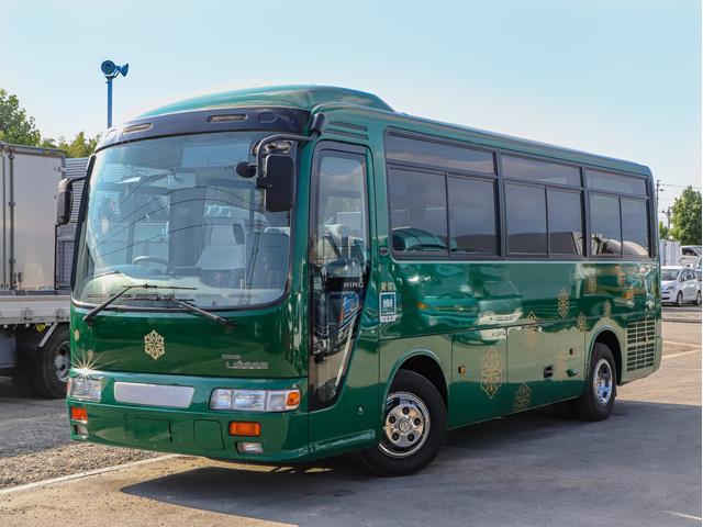 日野 26人乗り観光バス スーパーツーリング リクライニングシート