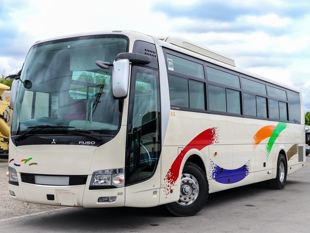 三菱ふそう 三菱ふそう エアロエース 50人乗りバス 観光仕様 貫通トランク3室