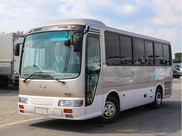 日野  スーパーツーリング 観光仕様 28人乗り モケットリクライニングシート スイング式自動扉