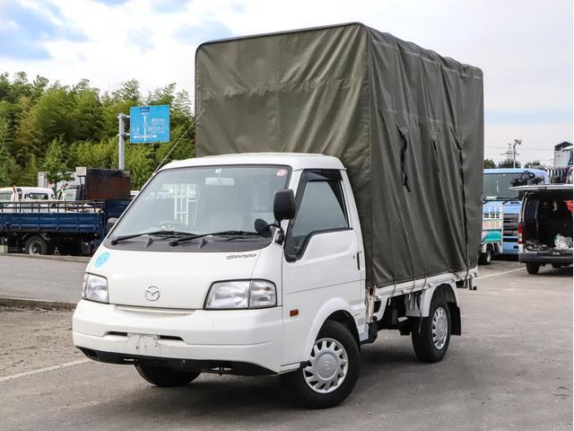 マツダ ボンゴトラック  幌付き平ボディ 1150kg 背高 AT車