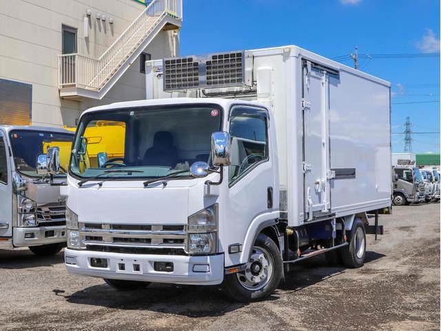 いすゞ エルフトラック  3.5t 低温冷凍車 ワイドロング サイドドア スタンバイ装置 2エバ