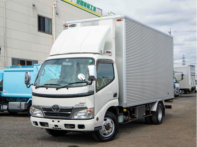 トヨタ  4WD 2t 低温冷凍車 背高 5MT 標準ロング -32℃