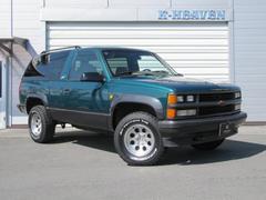 シボレー タホスポーツスポーツ 4WD 正規ディーラー車 1ナンバー登録