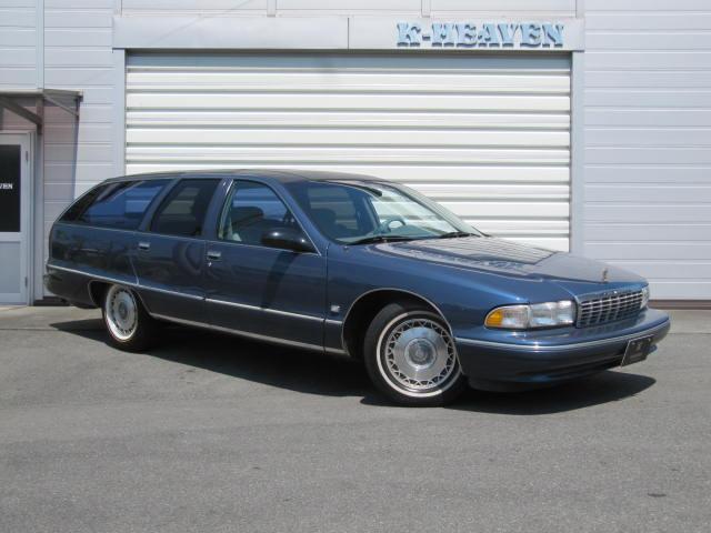 シボレー クラシックワゴン 1995yモデル 新車並行車 LT1エンジン カーファックス証明付き 1ナンバー登録 ベンチシート
