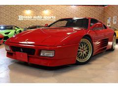 フェラーリ 348ts ディーラー車 クライスジークマフラー BBSアルミ