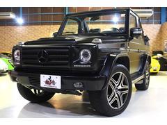 GクラスG320 カブリオ 正規ディーラー車 ブラックレザーシート