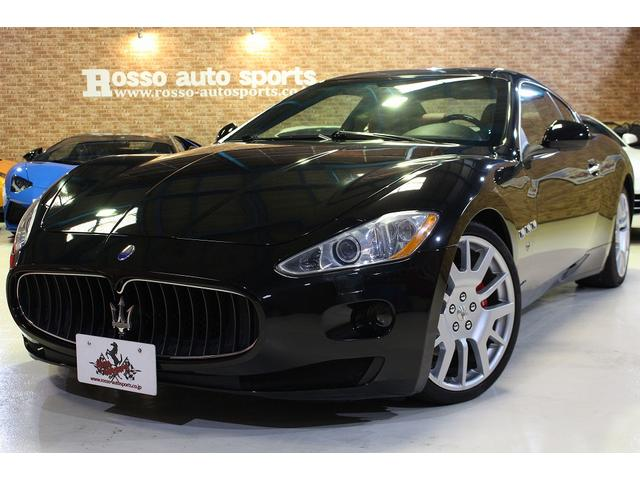 マセラティ 4.2 D車 左ハンドル 外装ブラック 内装レッド 車検令和4年7月まで ブレンボブレーキ