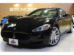 グラントゥーリズモ4.2 D車 左ハンドル 外装ブラック 内装レッド 車検令和4年7月まで ブレンボブレーキ