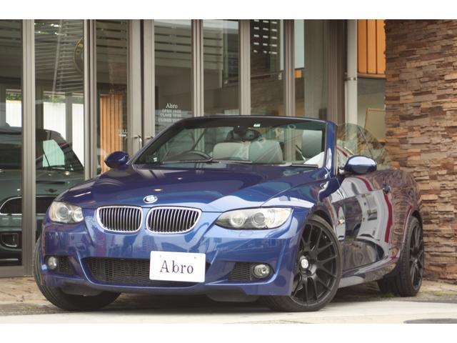 BMW 335iカブリオレ Mスポーツpkg グレーレザー