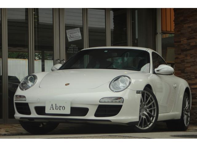 ポルシェ 911カレラ 997後期 6速MT スポーツクロノ 特注色 記録簿