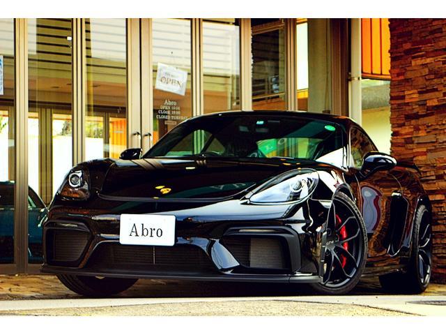 718ケイマン(ポルシェ)718ケイマンGT4 クロノpkg 1オーナー スポーツエグゾースト ナビ バックカメラ GT4専用20AW ブラックハーフレザー アルカンターラスポーツステアリング GT4リアウィング オートエアコン  レッドキャリパー 中古車画像