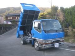 キャンター新免許対応全低床ダンプ5240cc2000kg積載
