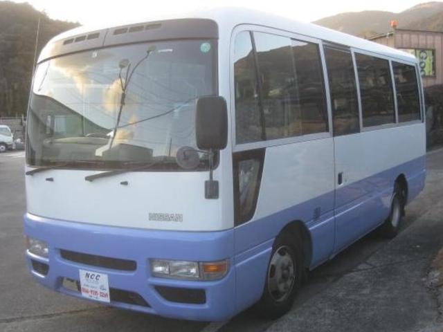 日産 マイクロバス26人乗りNOX適合シリビアンDXコースター