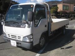 エルフトラックNOX適合全低床平ボディーアルミボディー2000kg新免許