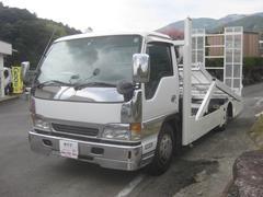 エルフトラック2台積載車3100kg積載Dターボ花見台SF20W