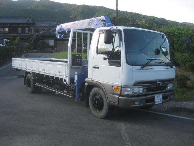 日野 NOX適合4段クレーンフックイン3000kg積載 4t標準
