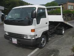 デルタトラック1オーナ2tユニック製セーフティーローダー積載車5mボディー