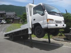 エルフトラック4000kg積載車ハイジャッキセルフワイドディーゼルターボ