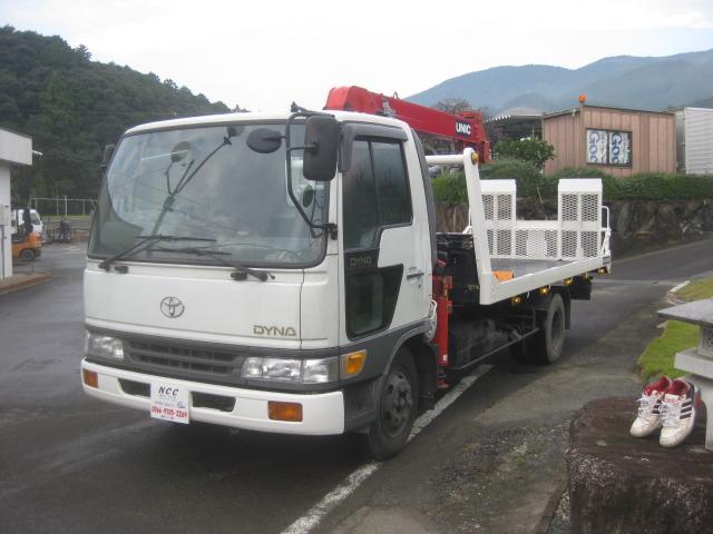 トヨタ クレーン付セーフティーローダー2900kg積載車