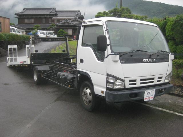 いすゞ NOX適合ユニックNEO5キャリアカーラジコン積載車Dターボ