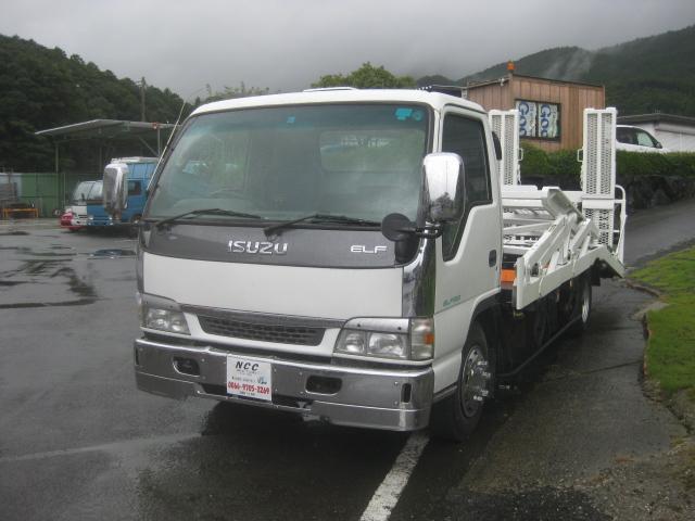 いすゞ 積載車2台積みキャリアカー2700kg積載車Dターボ