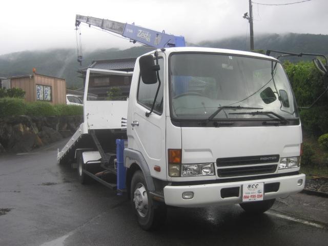 三菱ふそう NOX適合4段クレーン積載車4tセーフティーローダーラジコン