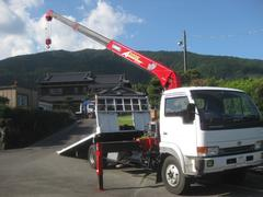 コンドル4tセーフティーローダークレーン積載車ラジコン付ワンオーナー