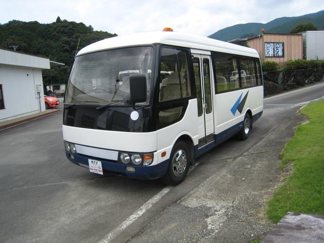 三菱ふそう NOX適合バス送迎仕様バス自動ドア自動ステップモケットシート