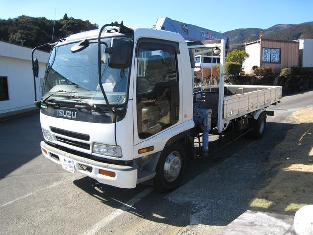 いすゞ フォワード  NOX適合3段クレーン3150kg積載 クレーン車 8t未満 5000 2170荷台