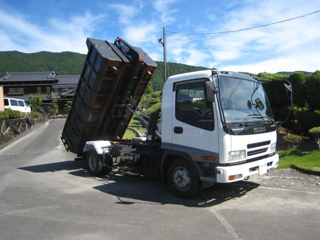 いすゞ フォワード  NOX適合2シリンダーアームロール4t 3900kg積載車 クラッチレススムーサー