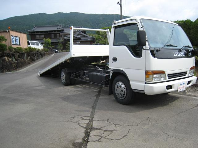 いすゞ  1オーナー3500kgラジコン付積載車セーフティーローダーDターボ 3500kg
