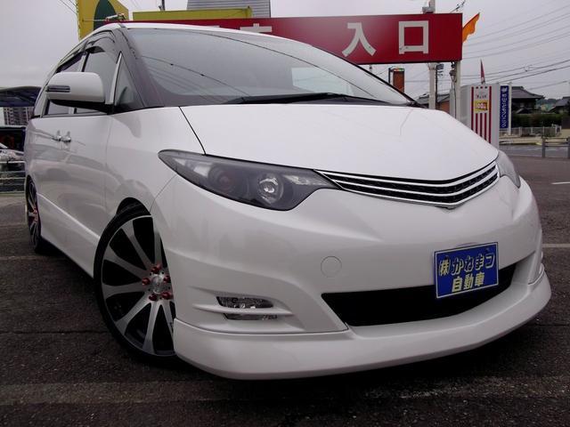 トヨタ 2.4アエラス Gエディション TEIN車高調 20インチ