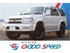 ハイラックスサーフSSR−X ホワイトプレミアム 4WD マッドテレーンタイヤ