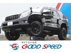 ランドクルーザープラドTX 4WD サンルーフ 2インチアップ LED TVナビ