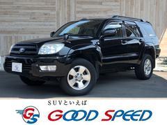 ハイラックスサーフSSR−G 4WD サンルーフ SDナビ 本革シート HID