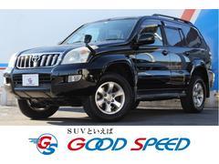 ランドクルーザープラドTXリミテッド 4WD ナビ DVD ルーフレール ETC