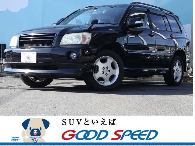 トヨタ 2.4S FOUR 4WD 3列7人乗り HIDヘッドライト 純正アルミホイール メーカーナビ バックカメラ ドライブレコーダー パワーシート ステアリングシフト オートライト キーレスキー